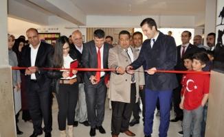 Siverek'te Çanakkale şehidi adına kütüphane açıldı