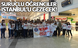 Suruçlu öğrenciler İstanbul'u gezecek!