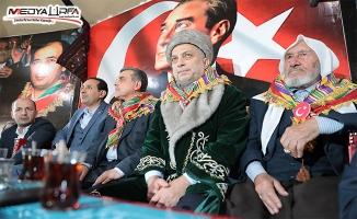 Türkmenlerden Cumhur İttifakına Destek