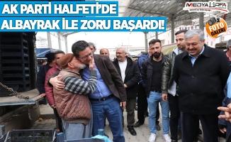 AK Parti Halfeti'de Albayrak ile zoru başardı
