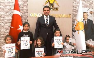 Başkan Ağan'ın Koltuğu Çocuklara Emanet