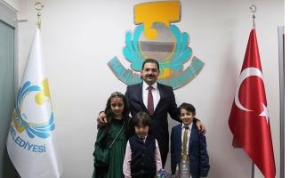 Başkan Canpolat, Makamını Muhammet Eray'a Devretti