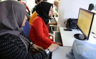Gençler Haliliye Belediyesi ile bilgisayar öğreniyor