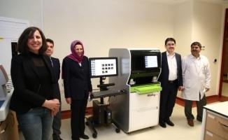 HRÜ'de hemogram cihazı hizmete alındı