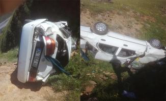 Malatya'da otomobil devrildi: 1 ölü, 1 yaralı