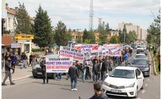Mardin'de tefeci ve uyuşturucu satıcılarına tepki