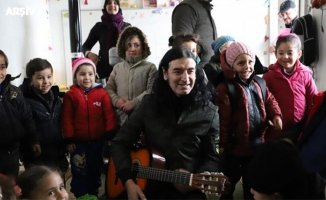 Murat Kekilli Suriye'de 23 Nisan konseri verdi