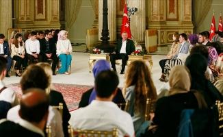 Erdoğan gençlerle buluştu!