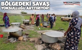 Etiyopyalı ve Somalili ailelere Urfa'dan yardım eli