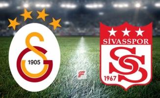 Galatasaray ile Sivasspor 26. randevuda