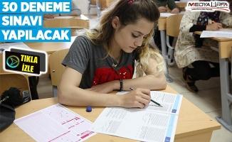Haliliye öğrencileri sınavlara hazırlıyor