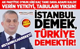 İstanbul'u öyle bir tarif etti ki...