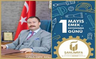 OSB Bölge Müdürü Aksu 1 Mayıs'ı kutladı