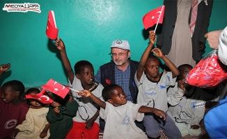 Osman Gerem: Yetimleri sevindirmeye çalışıyoruz