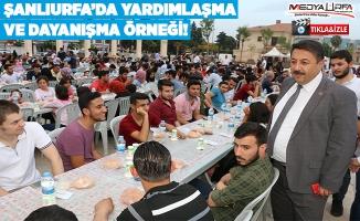 Ramazan Urfa'da bir başka güzel yaşanıyor