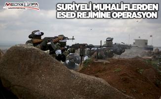 Suriyeli muhaliflerden Esed rejimine operasyon