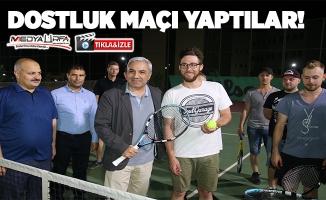 Tenis dünyası rallicilere ev sahipliği yaptı