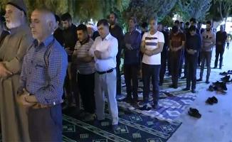 Urfa'da Ramazan ayının ilk teravih namazı kılındı