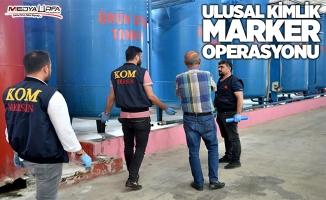 """Urfa'da Mersin merkezli """"Ulusal Kimlik Marker"""" operasyonu"""