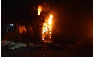 Azez'de terör saldırısında 14 sivil öldü