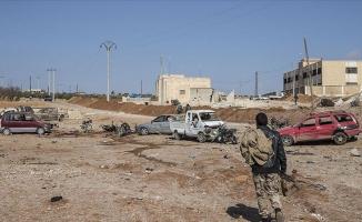 Bab'da araçta bomba patladı: 1 ölü, 1 yaralı