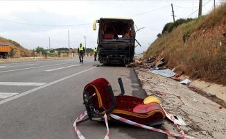 Balıkesir'de feci kaza 4 ölü, 48 yaralı