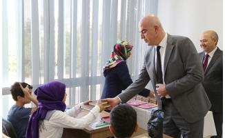 Çocuklar, Haliliye'de Kur'an-ı Kerim öğreniyor