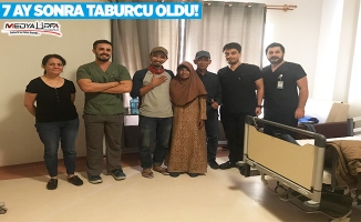 Endonezyalı hasta 7 ay sonra taburcu oldu!