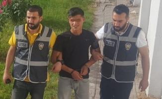 Fırat Nehri'ne atlayarak polisten kaçmıştı! Yakalandı