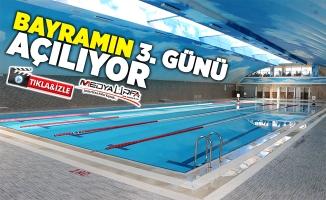 GAP Vadisi Kapalı Yüzme Havuzu açılıyor