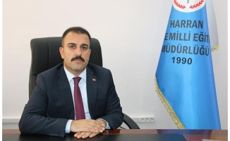 Harran İlçe Milli Eğitim Müdürü Bircan, görevine başladı
