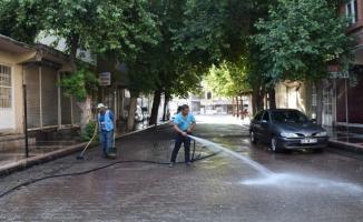Hilvan'da hummalı temizlik çalışması