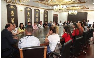 Mardinli öğrenciler Şanlıurfa'da