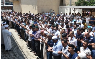 Siverek'te Mursi'nin cenaze namazına yoğun katılım