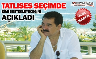 Tatlıses seçim için İstanbul'da