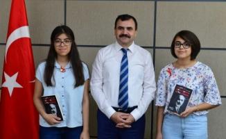 Urfa'da LGS'de tam puan alan öğrenciler ödüllendirildi