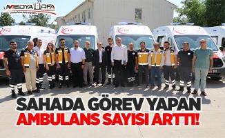 Urfa'da yeni ambulanslar hizmete başladı