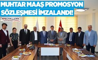 Urfa'da Muhtarlara Promosyon Ödemesi Yapılacak