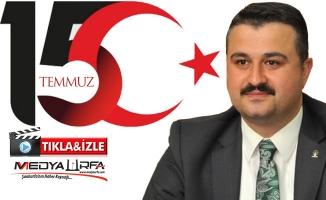 AK Parti Urfa'nın 15 Temmuz videosu Türkiye gündeminde