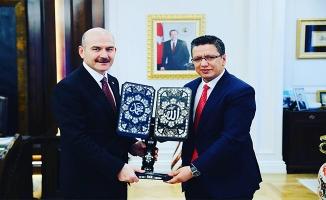 Albayrak'tan Ankara'da Halfeti için önemli temaslar