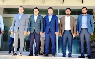 Başkan Baydilli'den Başkan Mahmut Özyavuz'a Ziyaret