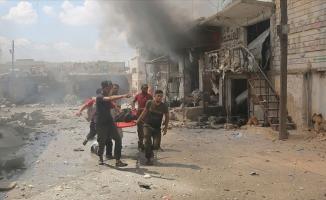 Esed rejimi İdlib'i vurmaya devam ediyor: 9 ölü, 14 yaralı