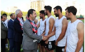 Karaköprü Belediyespor sezonu açtı