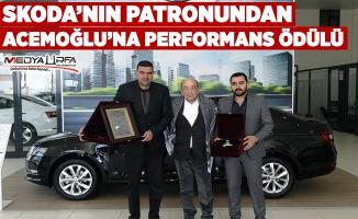 Skoda Acemoğlu'na performans ödülü verildi!