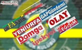 Yerel basından Şanlıurfaspor yönetimine tepki
