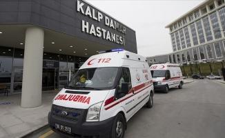 Ambulanslar 3 milyon hastanın imdadına koştu