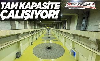 Atatürk Barajı tam kapasite çalışıyor