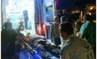 Düğünde atılan havai fişek yerde patladı: 2 yaralı