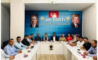 Milletvekili Açanal Karaköprü teşkilatıyla buluştu