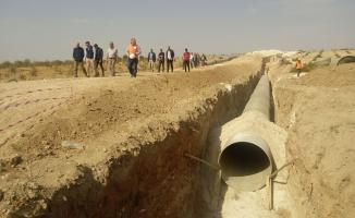 Şanlıurfa'da binlerce dekar arazi suya kavuşacak